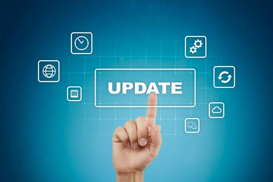 Actualizaciones de software y sistema operativo